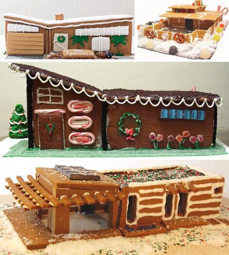 modern gingerboard homes