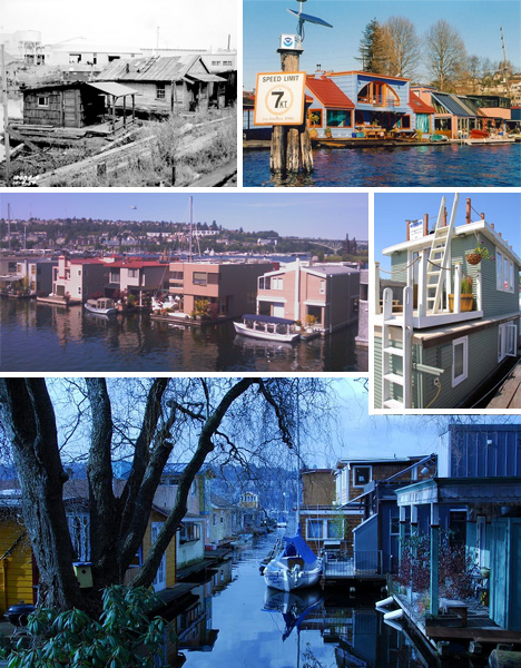 seatlte houseboat history tradition