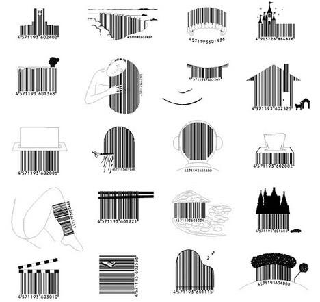 3d barcode image. 71k: 3d barcode