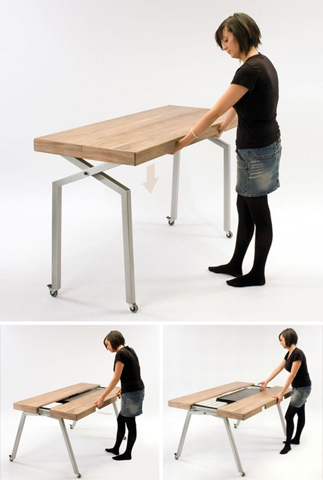 Small Expandable Dining Table