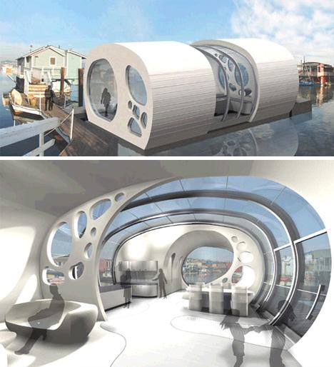 Floating Boat House Floor Plans