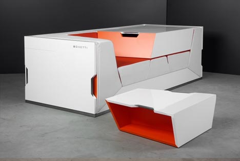 Lounge in a box modular living room furniture collection - Modular living room design ...