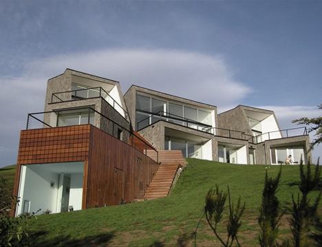 steep hillside home plans