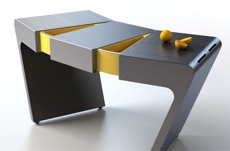 Wonders: Morphing Modernism: Minimalist Kitchen Island Design Idea