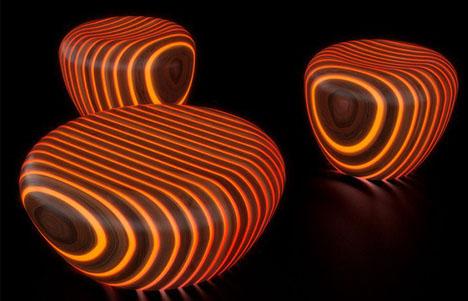 glow in the dark lighting. Light Wood Glow In The Dark Outdoor Furniture Lighting