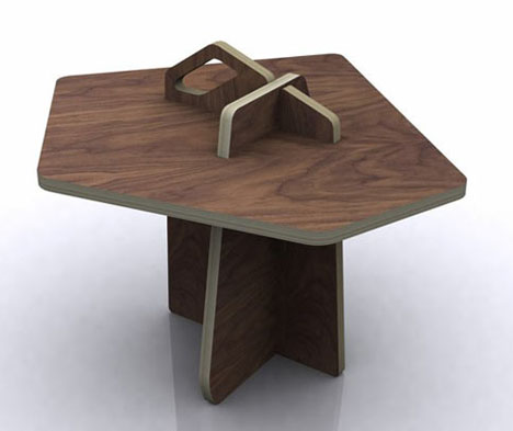 Construction Plans Page 1 This simple plywood table is a most ...