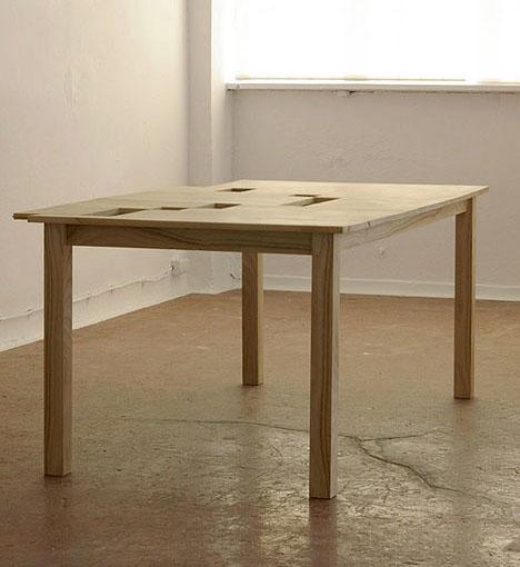 Do It Yourself Home Design: Haammaz: Hidden Desk: Secret Spaces In A Simple Wood