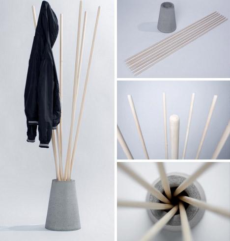 Simple coat rack woodworking plans