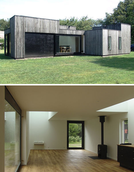 1 Story Skybox Small Simple Open Plan Summer House