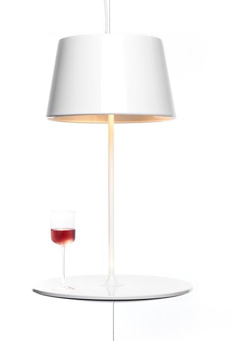 Snygg lampa