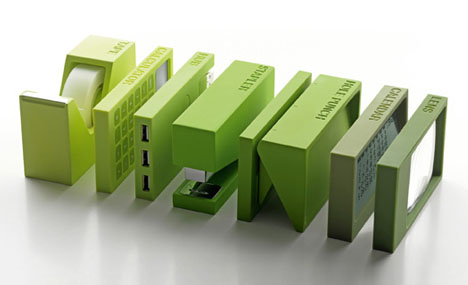 Great OCD Organizers Set of Modular Desktop Office Products