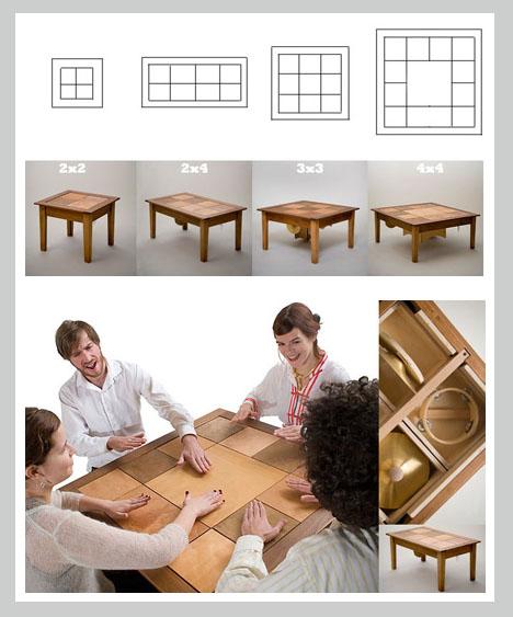 Interactive Furniture Design Acoustic Decor Modular Interactive Musicmaking  Furniture