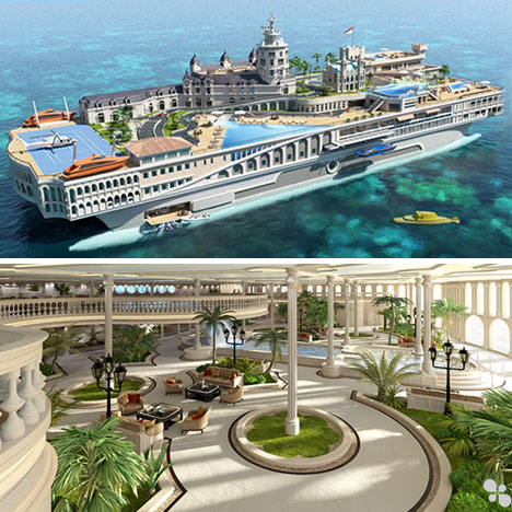 Tropical Island Yacht Cruise Ship