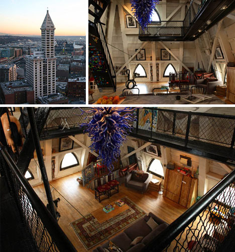 Attic Works: Seattle's Tower-Top Mystery Apartment