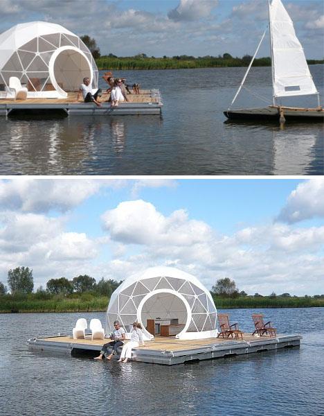 interior architecture design floating dome home. Black Bedroom Furniture Sets. Home Design Ideas