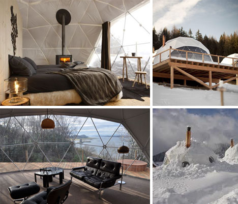 lightweight living global 4 season geodesic dome homes interior