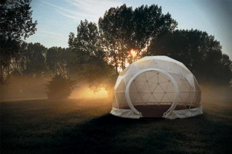 lightweight living global 4 season geodesic dome homes interior