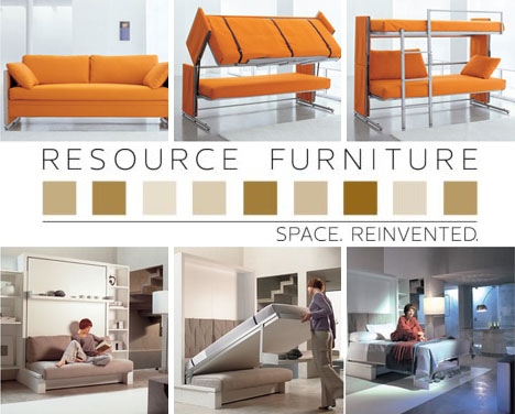 Resource Furniture: 4 Space-Saving Transformers [+Video]