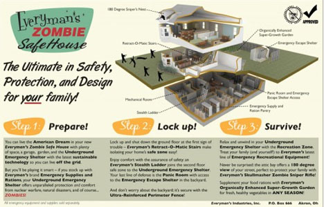 Zombie Proof House Plans - Architectural Designs on