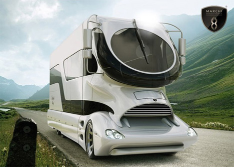 Driving Around The Country In An RV Is Not First Thing Most Of Us Think When Word Luxurious Mentioned Perhaps Futuristic Luxury RVs