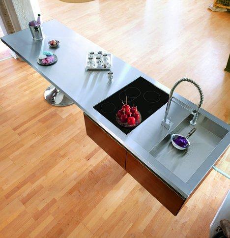 Kitchen counter tops, corian top,