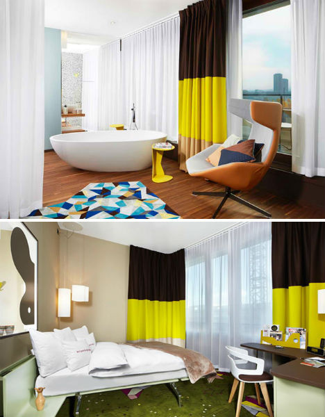 25Hours Hotel is an Eclectic Place to Stay in Zurich - image 25Hours-Hotel-Zurich-4 on http://bestdesignews.com