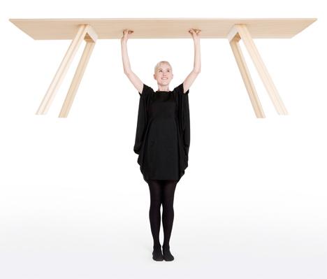 Hubert Lightest Timber Table 1