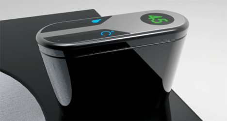 futuristic slide tap concept