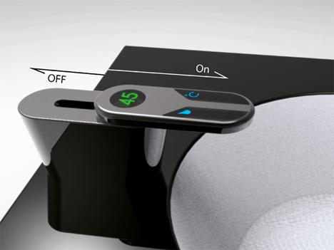 reece slide tap futuristic faucet
