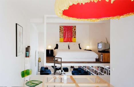 Highs Lows Suspended Bedroom Sunken Living Room