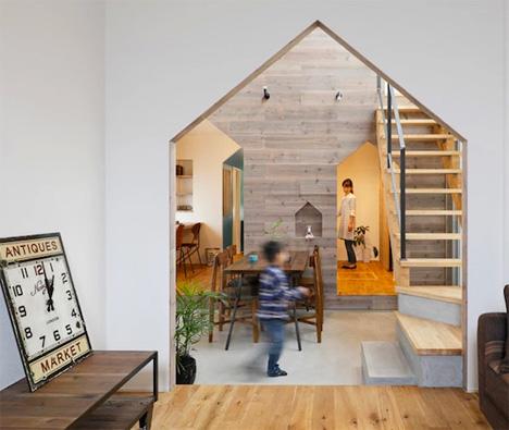 House Shape Cutout Motif 1