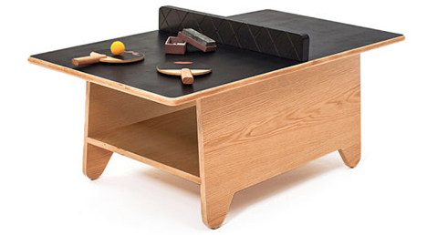 ping pong coffee table