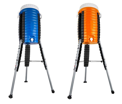 Retractable Legs Let This 5-Gallon Cooler Go Anywhere