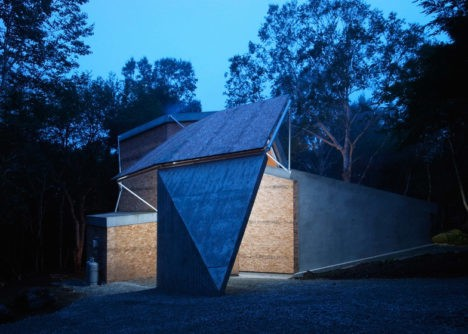 Odd House Adapts to Irregular Site with Computer Mapping