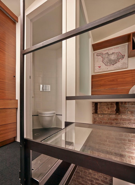 Tiny 93 Sq Ft Boiler Room Becomes Charming Guest House