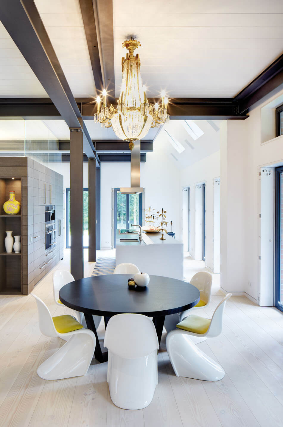 Modern and Classic Meet: Renovated German Country House