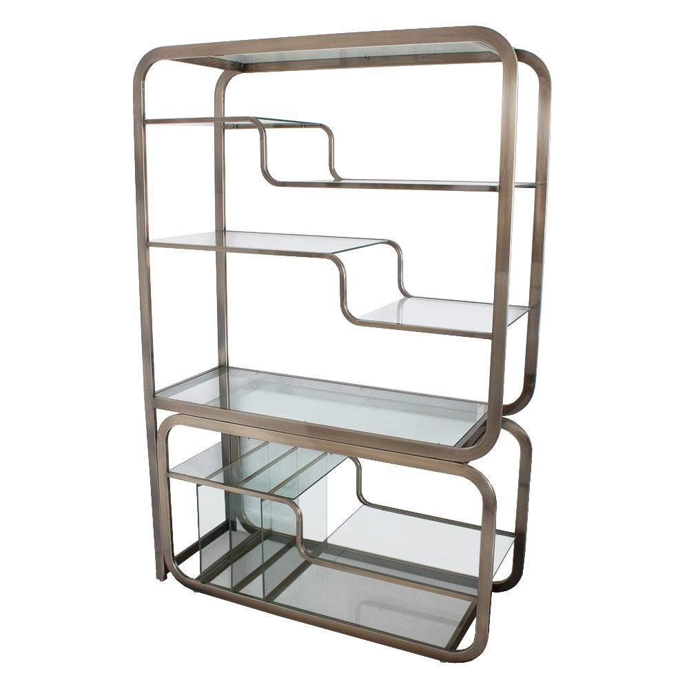 brushed-bronze-dia-milo-baughman-bookcase-etagere-4s