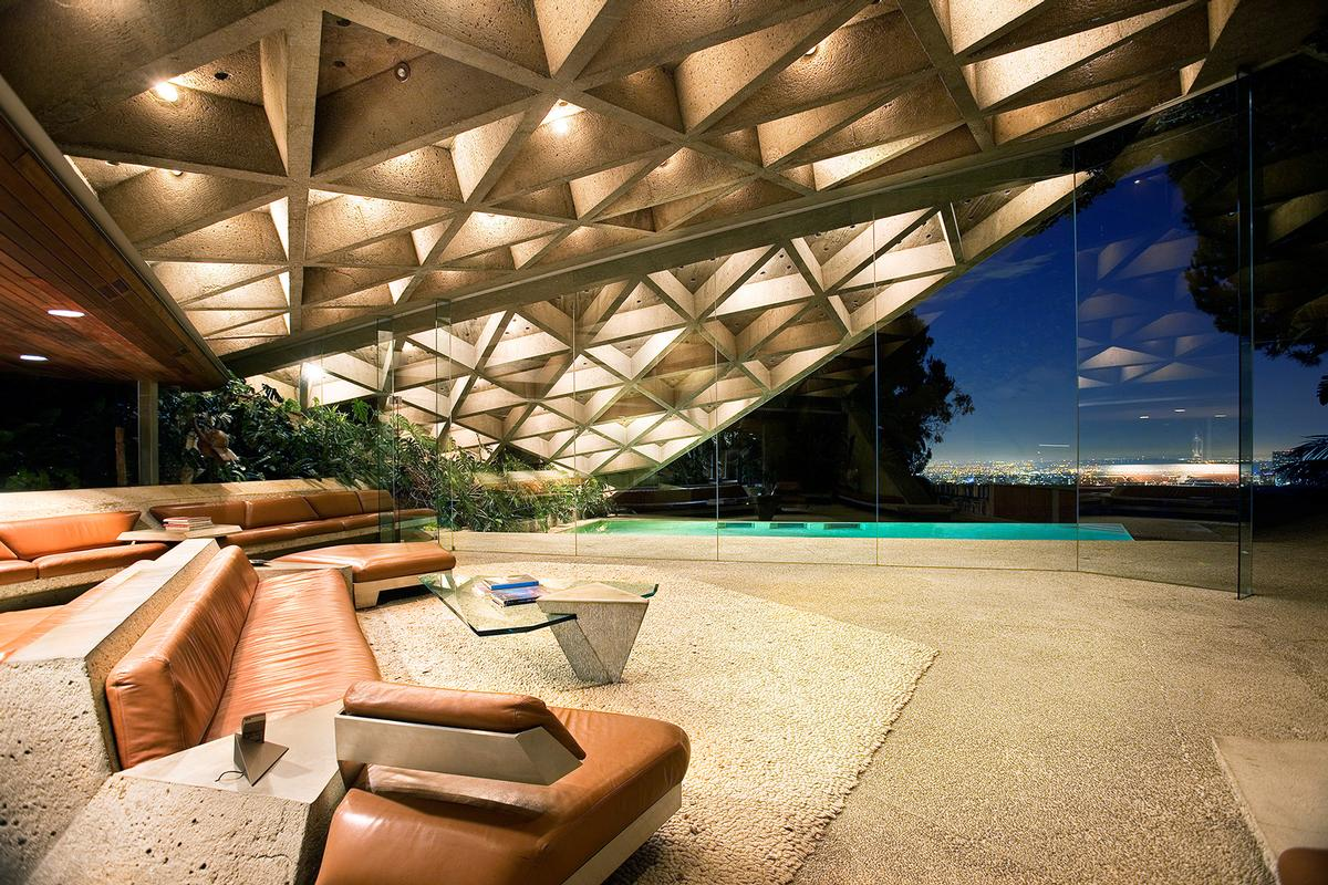 Stunning John Lautner-Designed Home Donated to LACMA