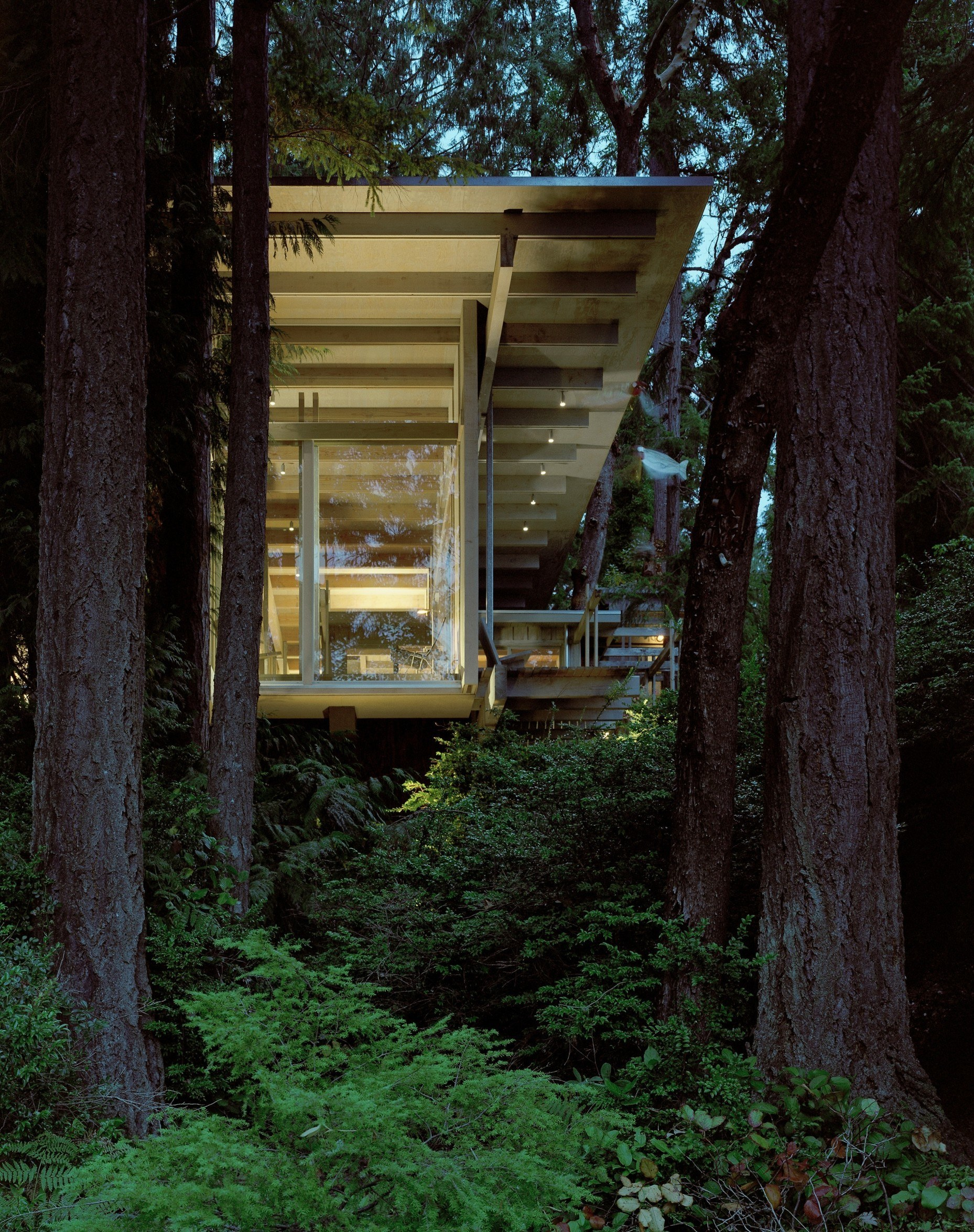 Home of a Starchitect: Cabin at Longbranch by Olson Kundig