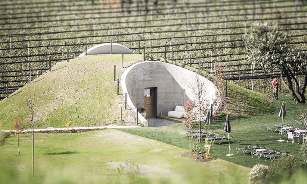 Hobbit Sauna: Grassy Hill House Hides a Relaxing Secret