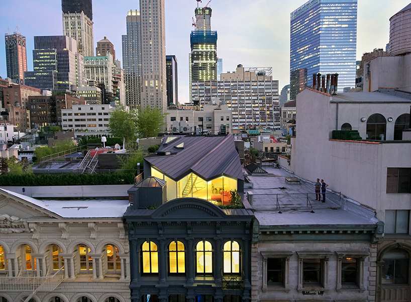 Secrets of New York City: Rooftop Penthouse Invisible from the Street