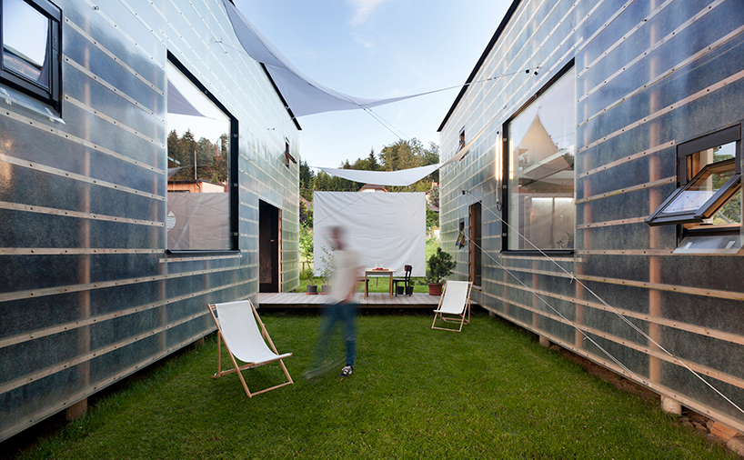 Alternative Housing: Transparent Live/Work Volumes are Cheap and Modern