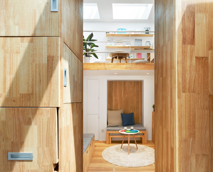 Brilliant in Beijing: Two Tiny Residences Full of Space-Saving Tricks