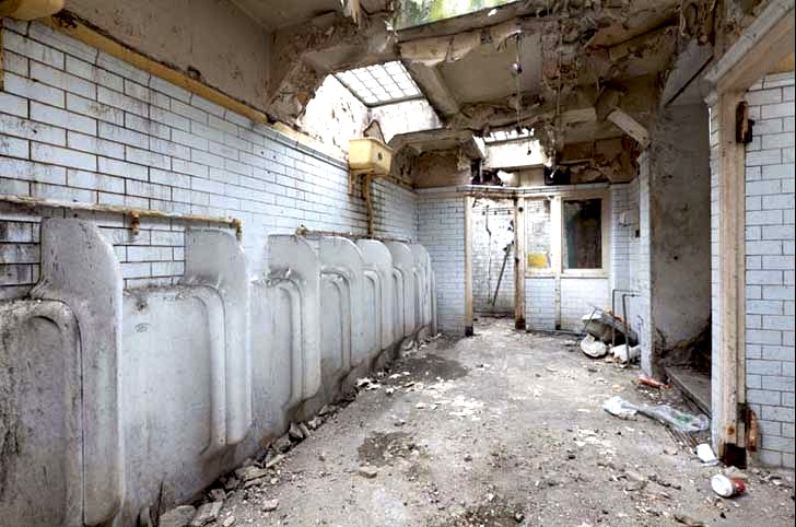 Believe It or Not, This Home Used to Be a Dilapidated Public Bathroom