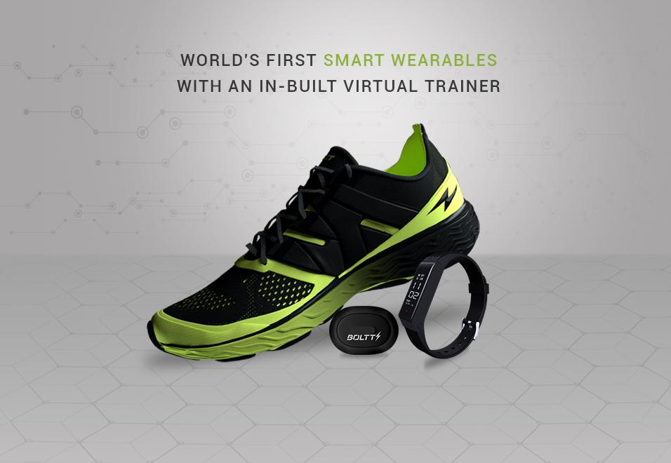 boltt smart shoe band stride sensor